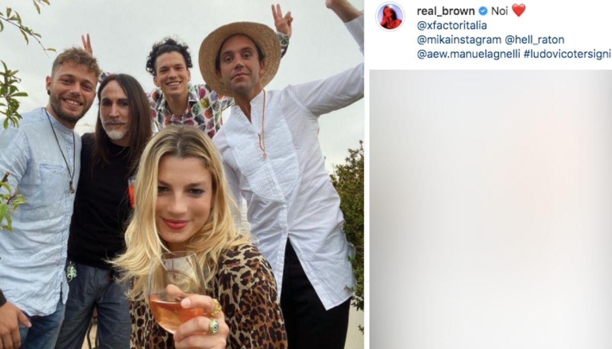 Emma Marrone e i giudici di X Factor