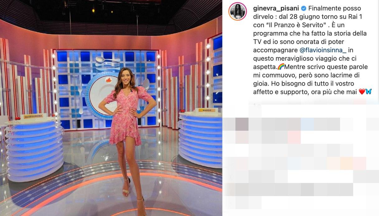 Ginevra Pisani post Instagram