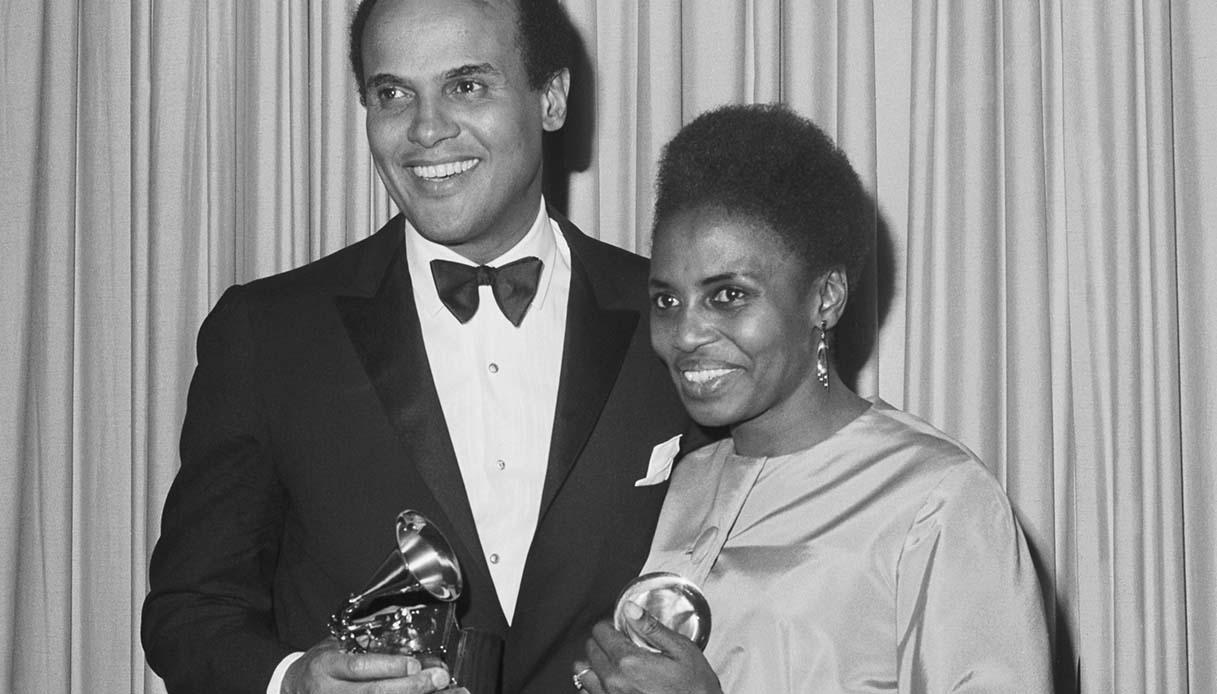 Harry Belafonte and Miriam Makeba