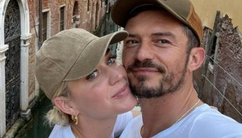 Katy Perry e Orlando Bloom, romantica fuga d'amore a Venezia