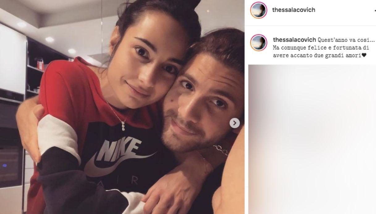 Manuel Locatelli e la fidanzata Thessa Lacovich