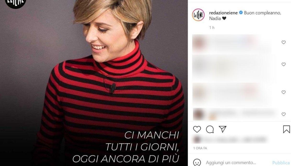 Post Instagram Le Iene