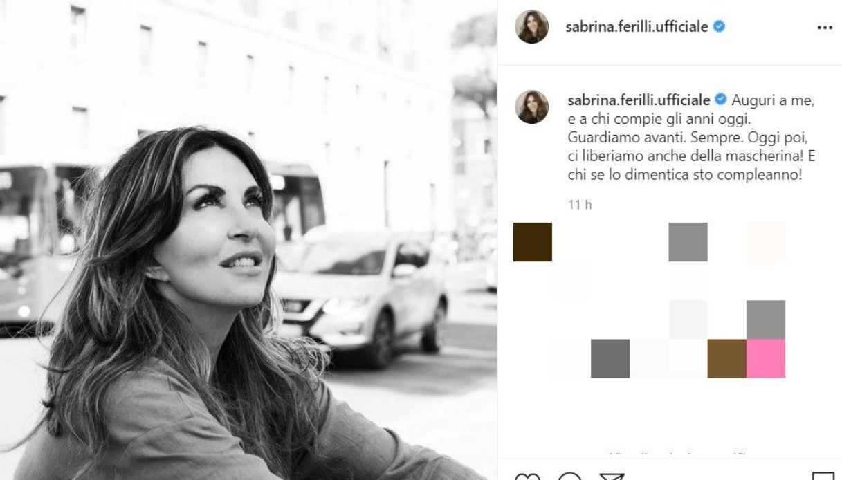 Sabrina Ferilli Instagram