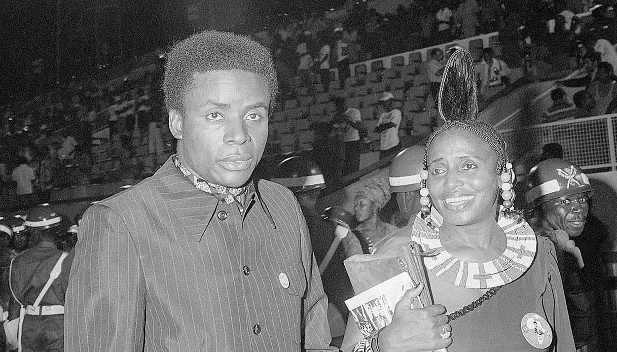 Stokely Carmichael e Miriam Makeba