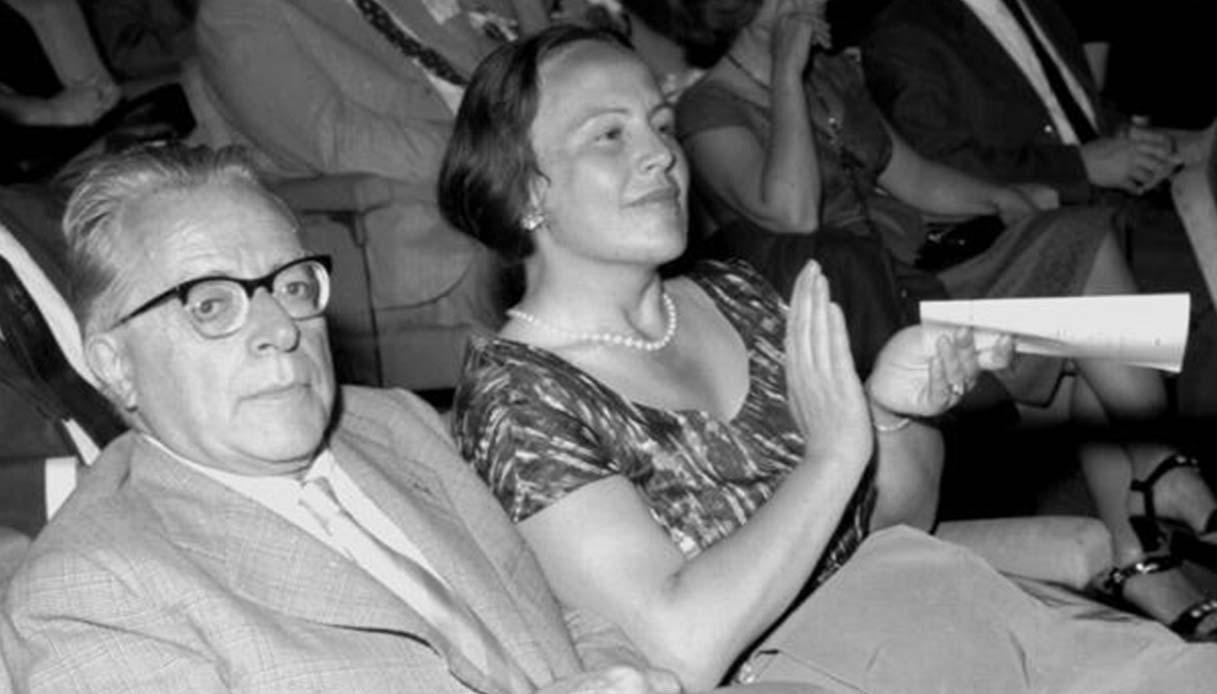 Palmiro Togliatti e Leonilde Iotti