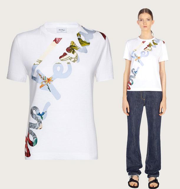 T-shirt Ferragamo