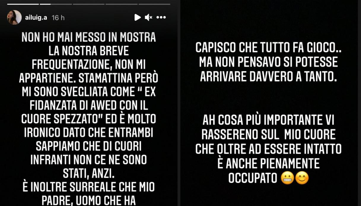Giulia Abbiati stories Instagram