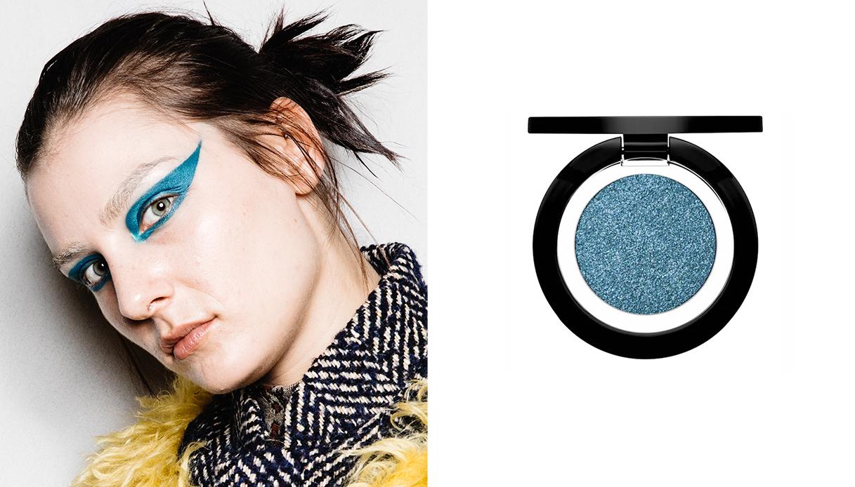Make-up occhi glam rock ombretto lapis