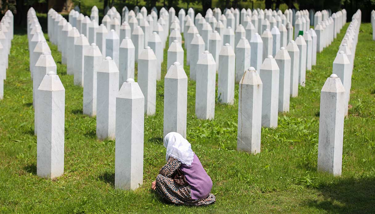 memoriale di SrebrenicaâPotocari a Srebrenica