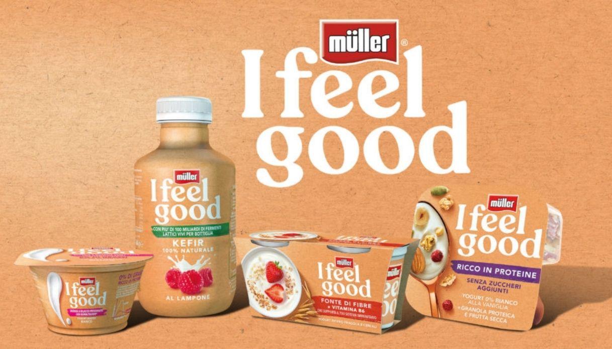 nuova linea I Feel Good di Müller