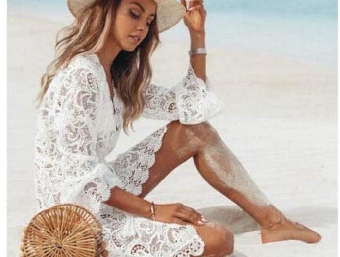 Abiti da spiaggia, comodi e bellissimi da sfoggiare come copricostume