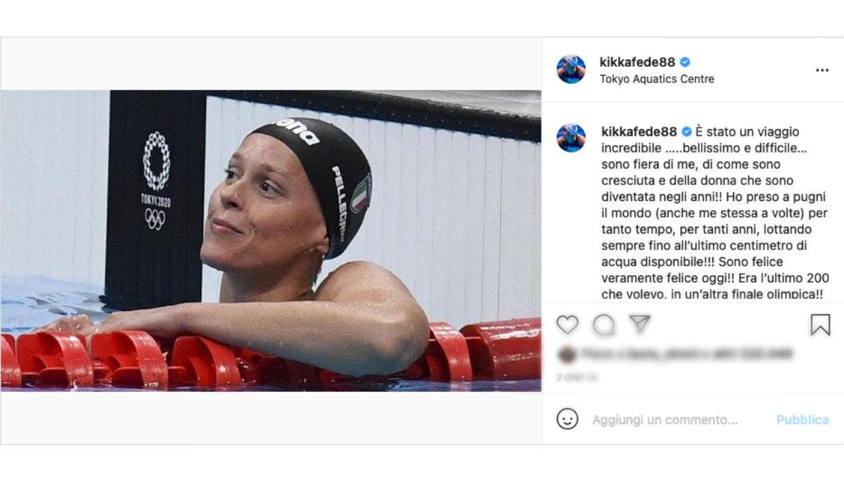 Federica Pellegrini Instagram