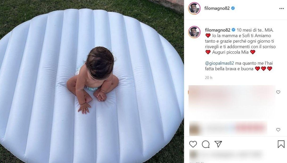 Filippo Magnini, il post Instagram