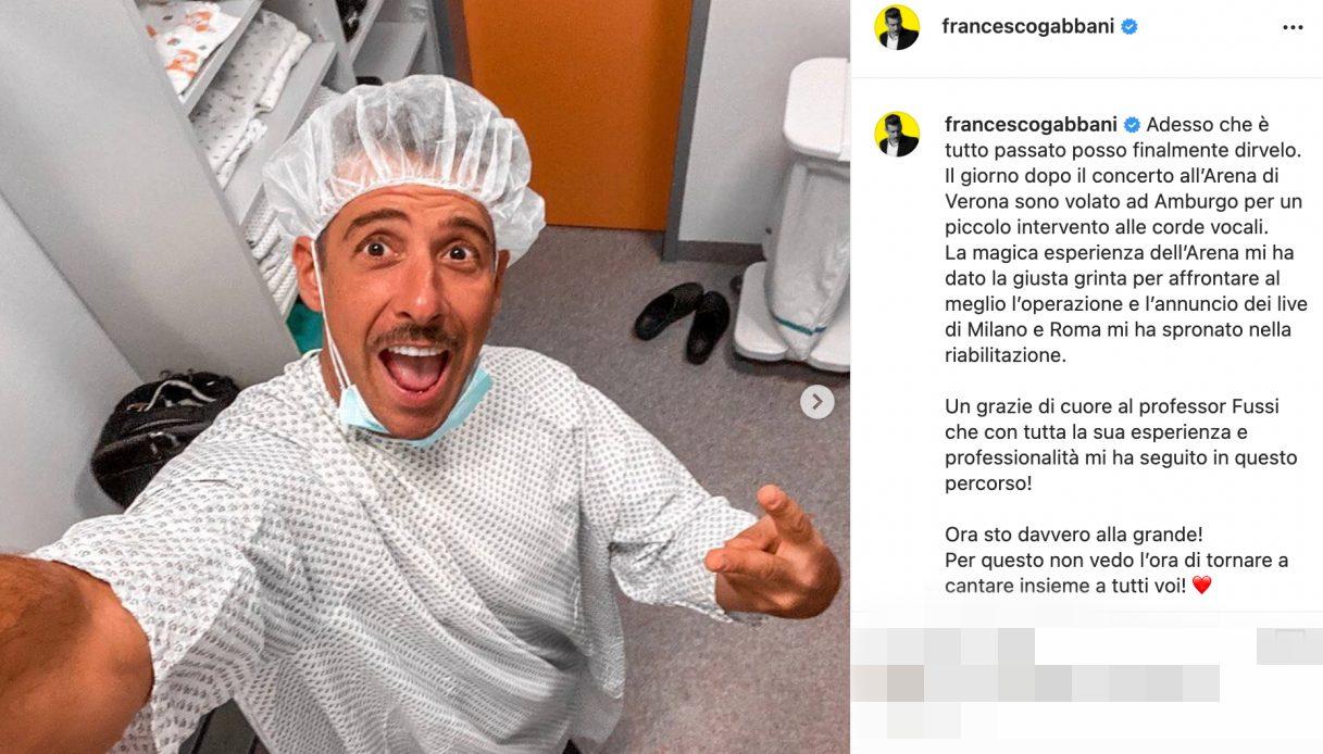 Francesco Gabbani post