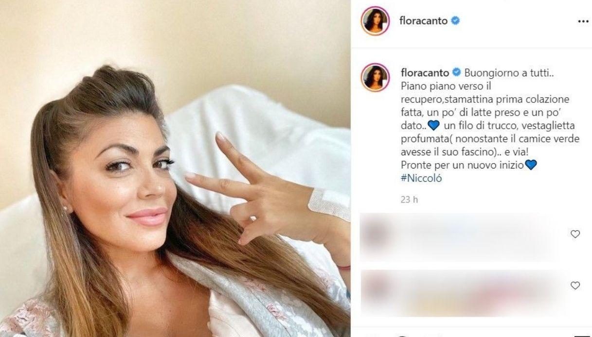 Post Instagram Flora Canto