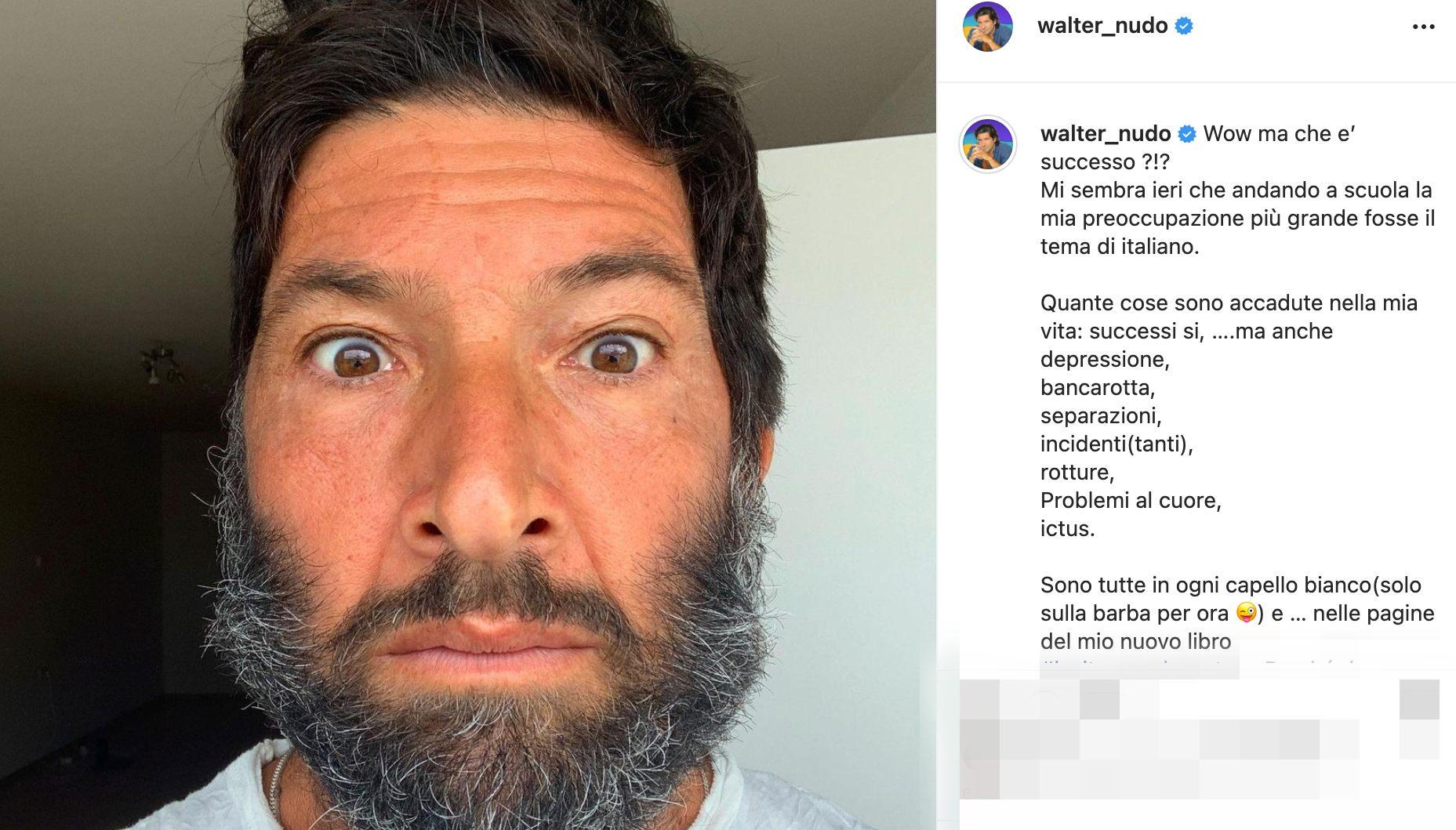 Walter Nudo post Instagram