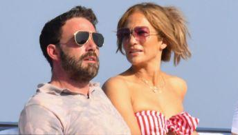 Jennifer Lopez e Ben Affleck in Italia: la vacanza in Costiera Amalfitana