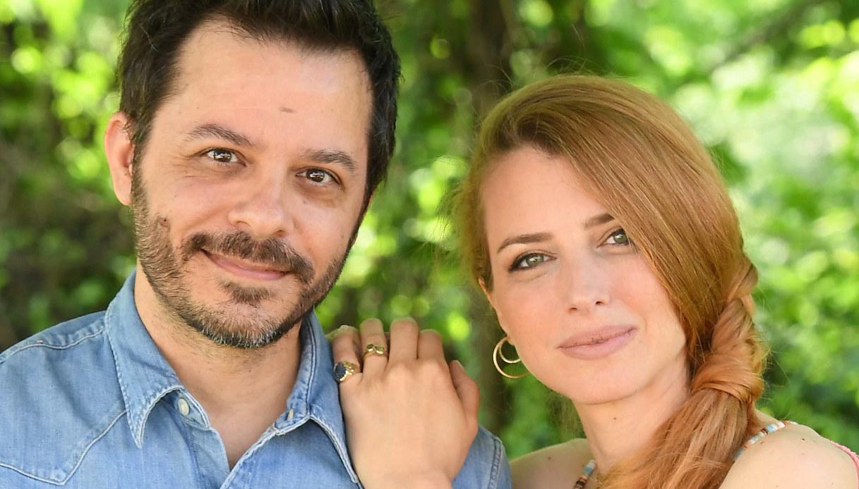 Carolina Di Domenico e Pier Ferrantini