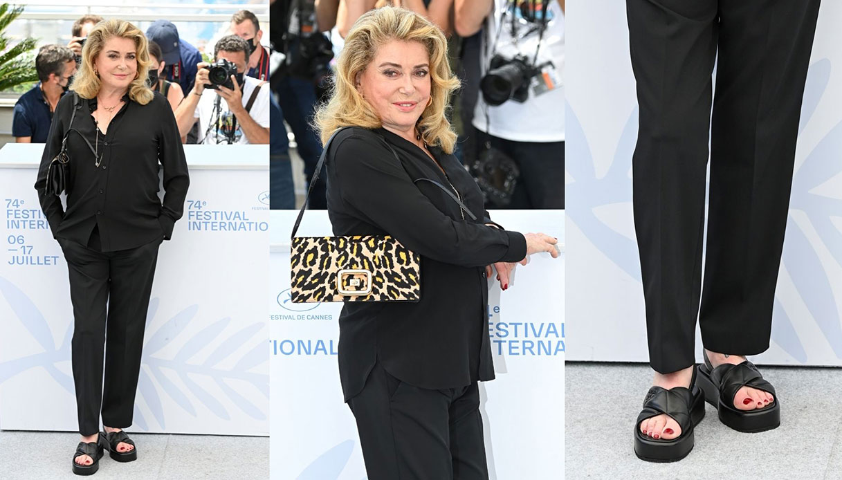 Catherine Deneuve Cannes 2021