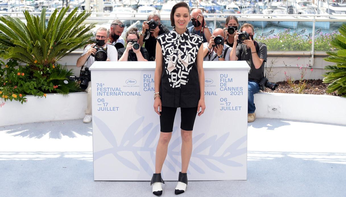 Marion Cotillard a Cannes 2021