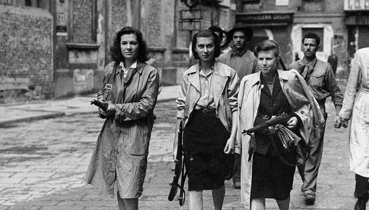Le donne della resistenza italiana