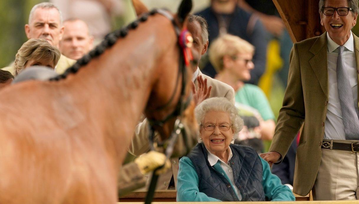 Regina Elisabetta al Royal Windsor Horse Show
