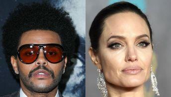 Angelina Jolie è stata avvistata (di nuovo) con The Weeknd a un concerto