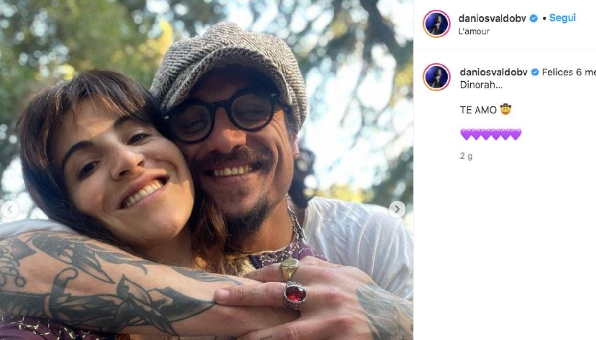 Dani Osvaldo e Giannina Maradona