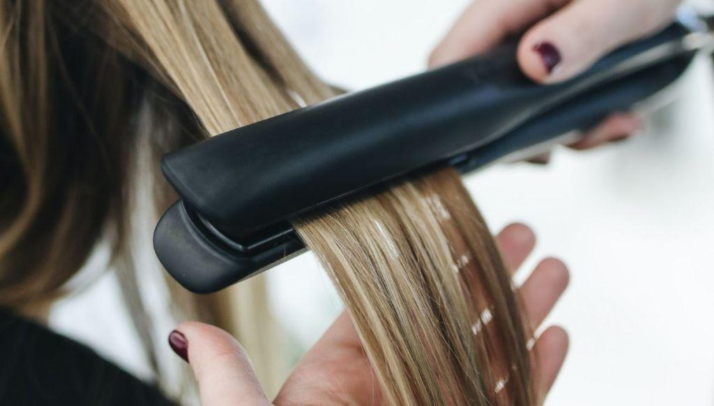 piastra lisciante capelli piega liscia capelli lisci