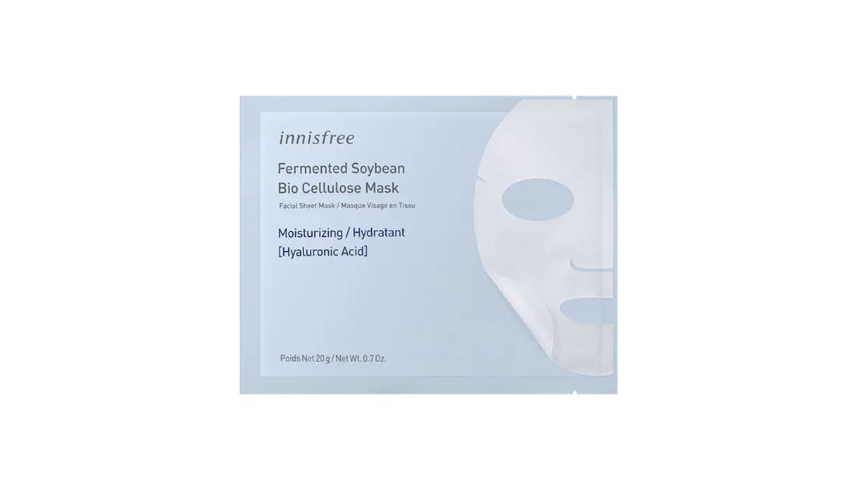 Innisfree, Maschera Di Soia Fermentata In Bio-Cellulosa