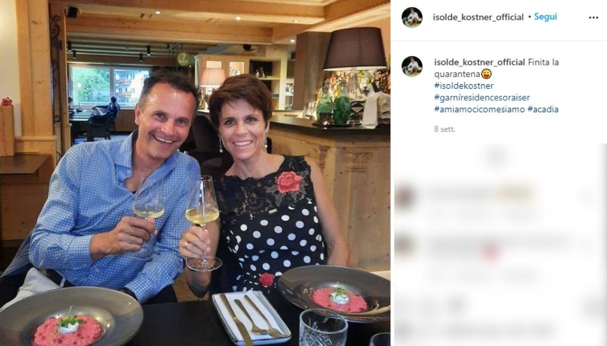 Isolde Kostner su Instagram