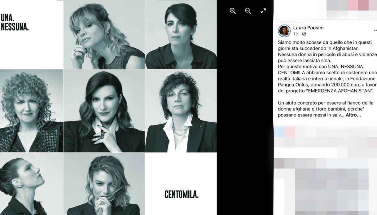 Laura Pausini post