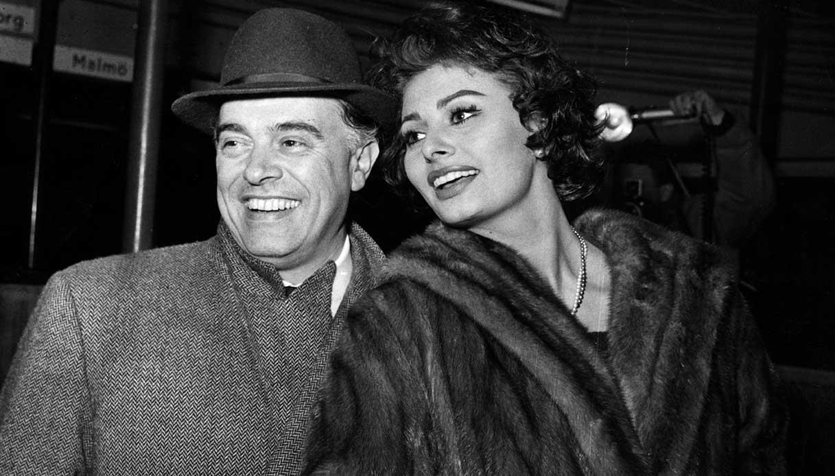 Sophia Loren Carlo Ponti