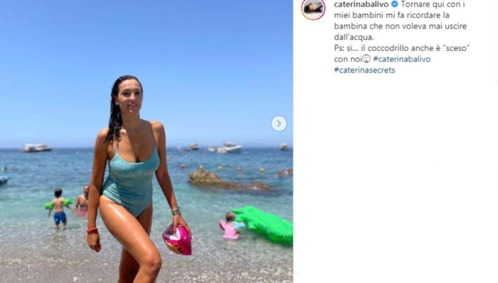 """Caterina Balivo, la bellezza di piacersi: """"Alla prova costume mi do 10"""""""