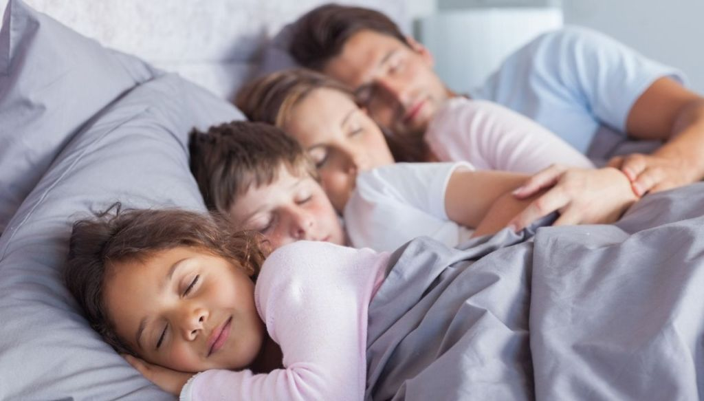 dormire con i genitori