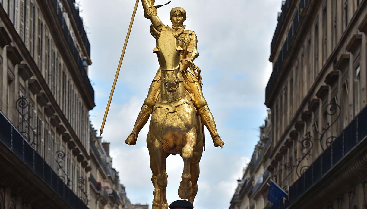Statua di Giovanna d'Arco