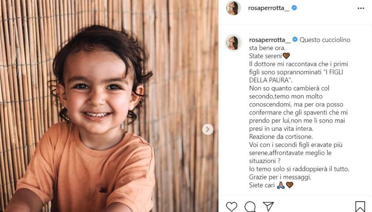 Rosa Perrotta su Instagram