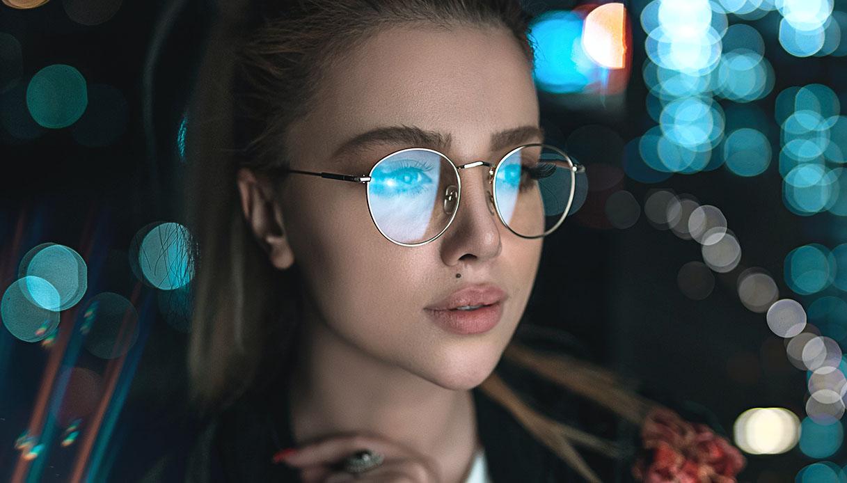 trucco per chi porta gli occhiali e sopracciglia