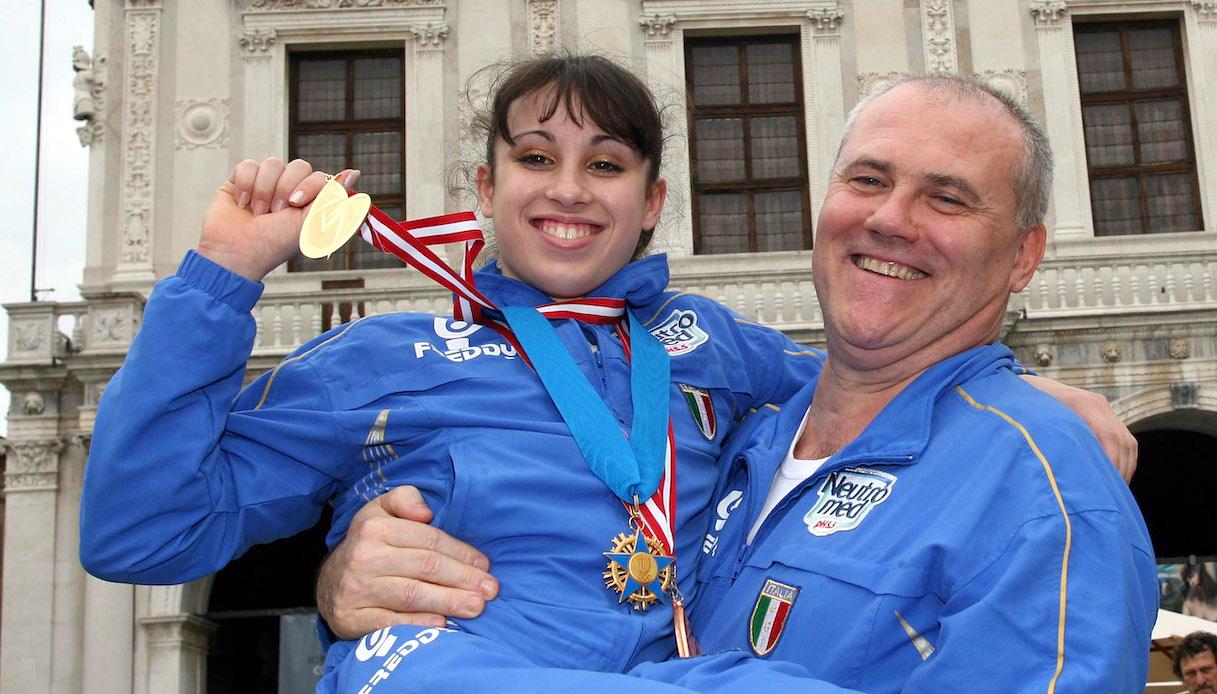 Vanessa Ferrari ed Enrico Casella