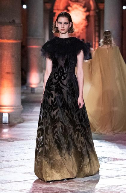 Alberta Ferretti e il damasco veneziano