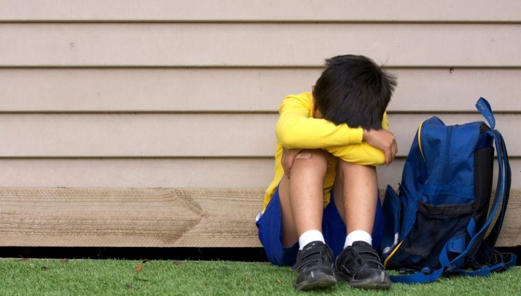 Bambino non vuole andare a scuola