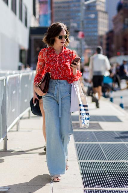 Jeans palazzo: Seventies con stile