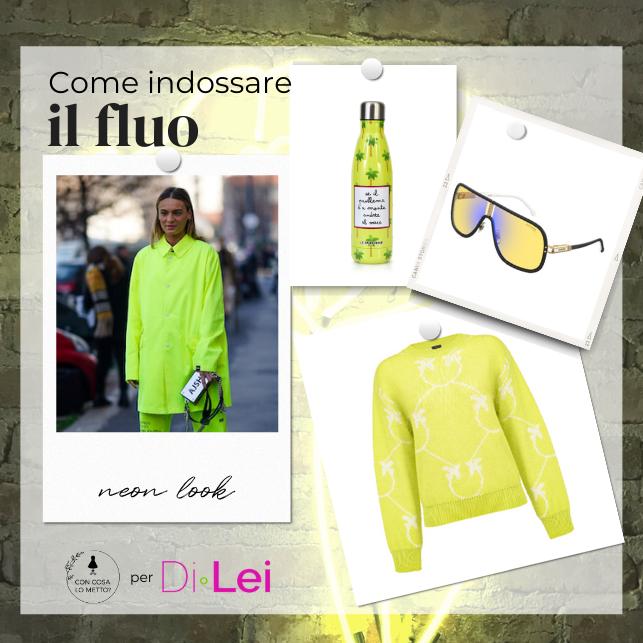Look al neon: idee per indossare i colori fluo