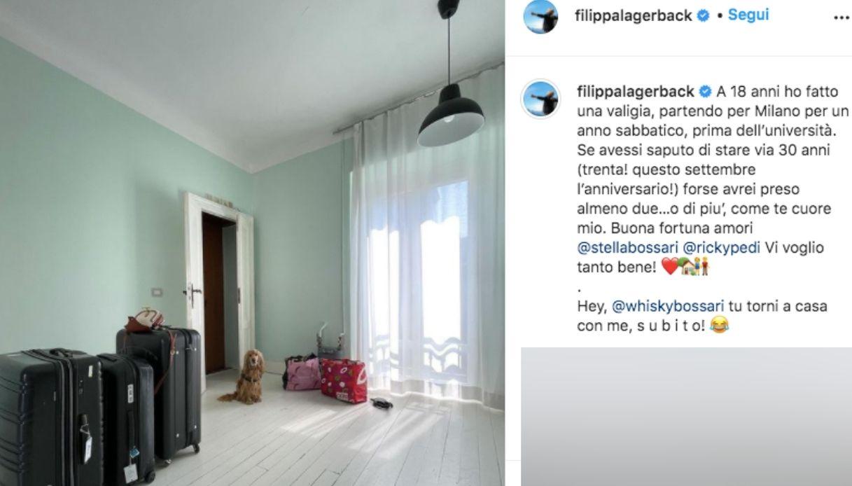 Il post di Filippa Lagerback