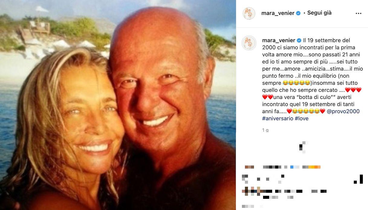 Mara Venier torna da Nicola Carraro dopo Domenica In