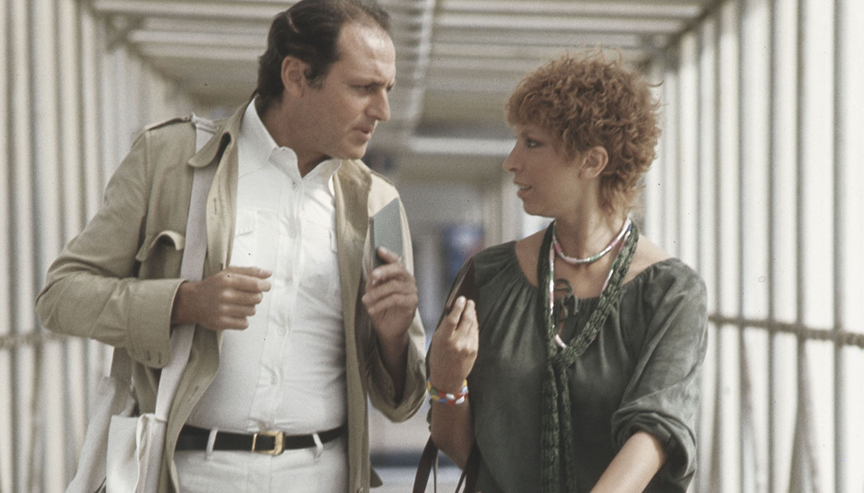 Mariangela Melato e Renzo Arbore