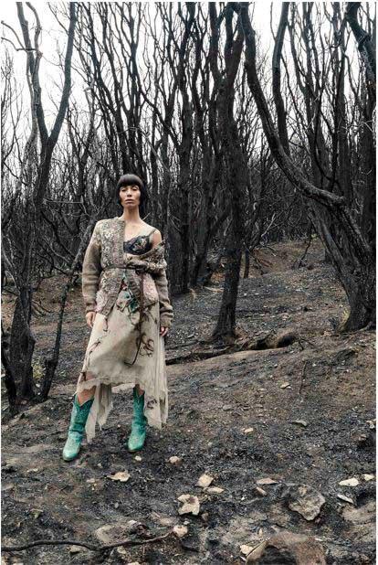 La drammatica dolcezza di Marras: dopo il fuoco la rinascita