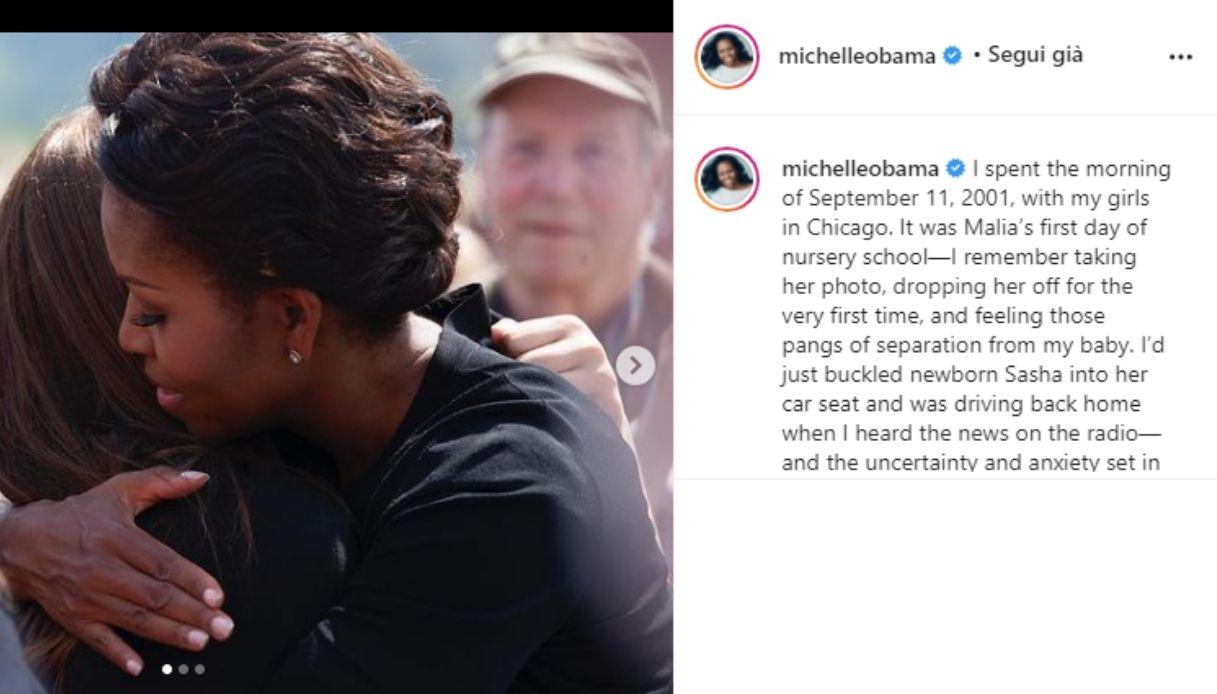 Michelle Obama su Instagram