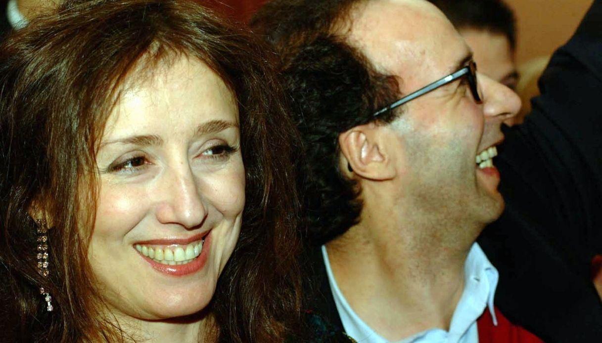 Nicoletta Braschi e Roberto Benigni negli anni Novanta