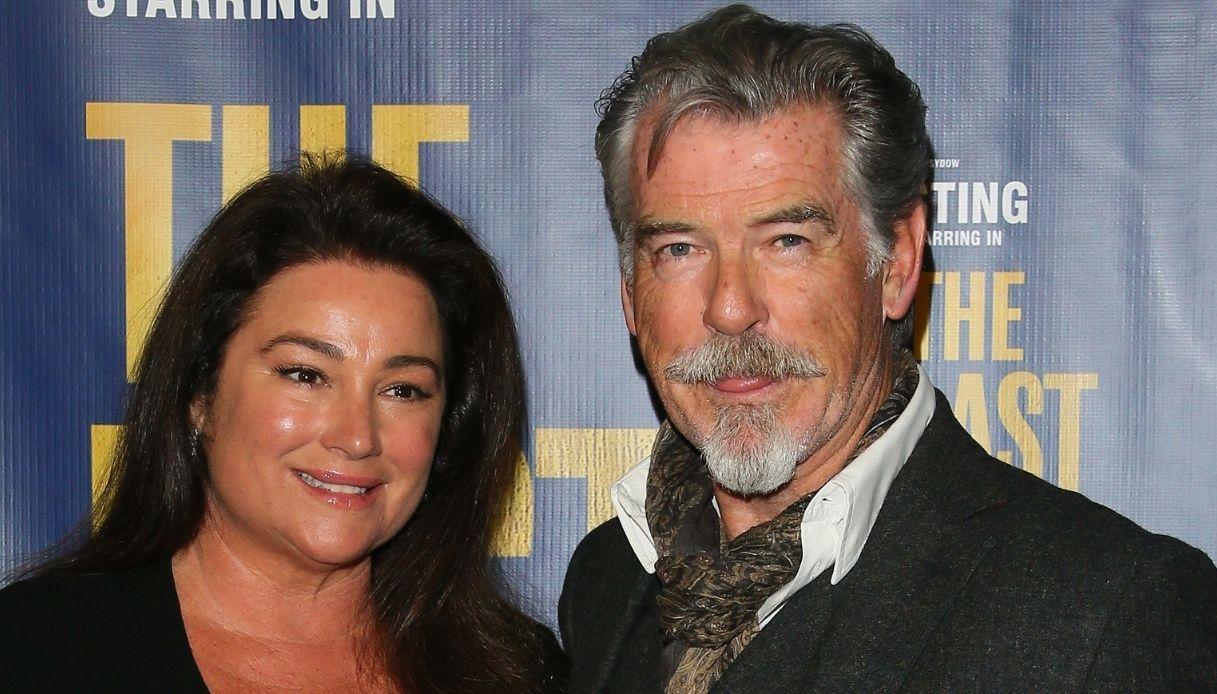 Pierce Brosnan e la moglie Keely Shaye Smith